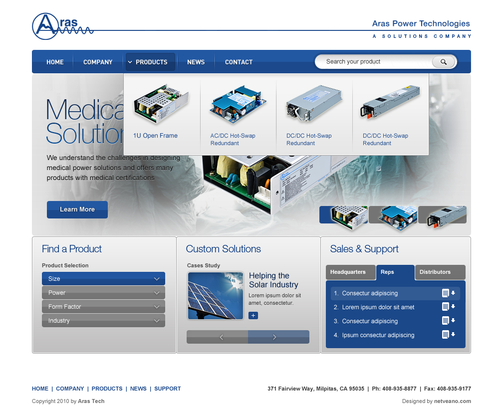 Website design seo company based in san jose netveano for Blueprint websites